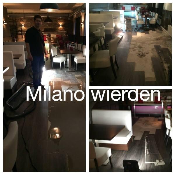 Reparatie klus bij Milano Wierden